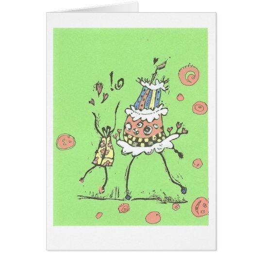 Happy Dance Birthday Card