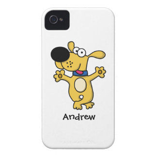 Happy Dancing Doggy iPhone 4 Case-Mate Case