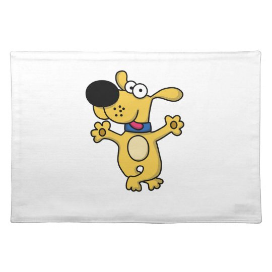 Happy Dancing Doggy Place Mats