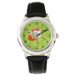 Happy Dancing Fox Watch
