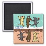 Happy Dancing Labradors Clean / Dirty