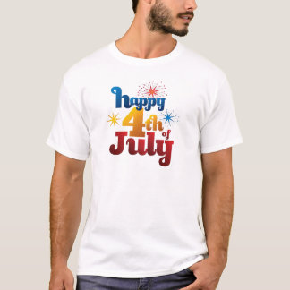 Happy Day July 4th T-Shirt