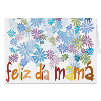 Happy day mother greeting card