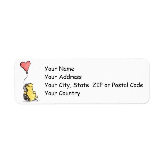 Happy Day! Return Address Label