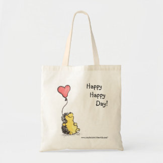 Happy Day tote Budget Tote Bag