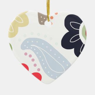 Happy Days Ceramic Heart Decoration