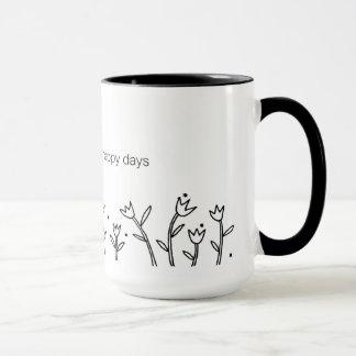 Happy Days Mug - Sarah Fielke BOM 2016