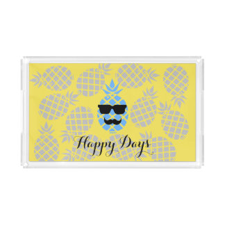 """Happy Days"" Pineapple tray"