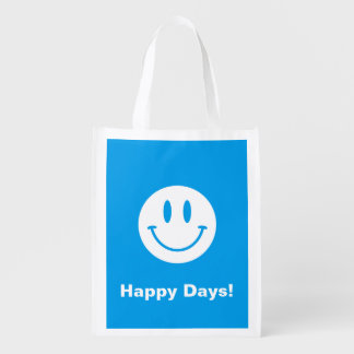 Happy Days Smiley Face Bag