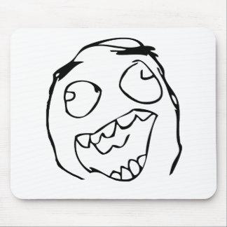 Happy derp -meme mouse pad