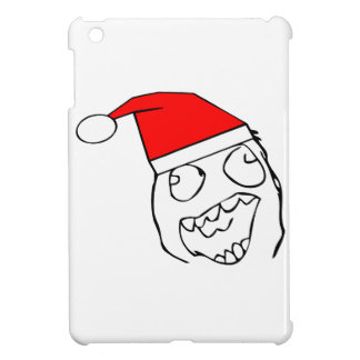 Happy derp santa - meme iPad mini cover