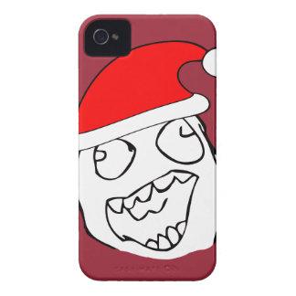 Happy derp xmas meme iPhone 4 Case-Mate cases