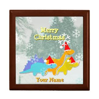 Happy Dinosaurs Christmas Gift Box