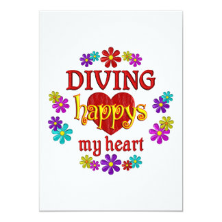 Happy Diving Custom Announcement
