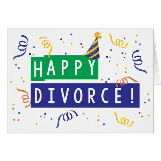 Happy Divorce Card