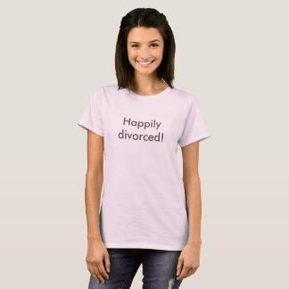 happy divorce fun funny tshirt