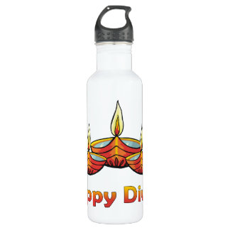 Happy Diwali 710 Ml Water Bottle