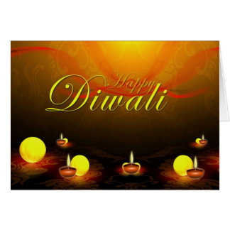 Happy Diwali Card
