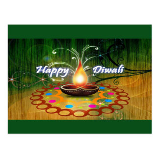 Happy Diwali Postcard