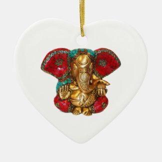 Happy DIWALI -  Thank you GANAPATI Ganesh Christmas Ornament
