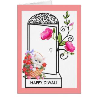 HAPPY DIWALI WISH GREETING CARD