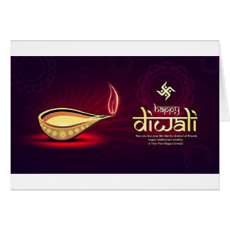 Happy Diwali Wishes Card