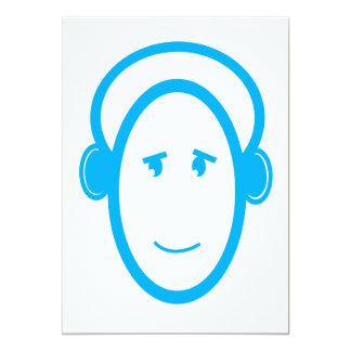Happy DJ 13 Cm X 18 Cm Invitation Card