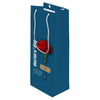 Happy Doctors' Day. Custom Doctor's Name Gift Bags