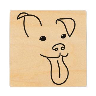 Happy Dog Face Coasters