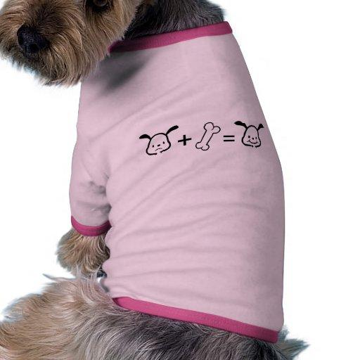 Happy Dog Math T-Shirt Doggie T Shirt