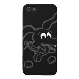 Happy Doggie Dark 2 iPhone 5 Covers
