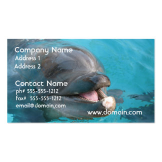 Happy Dolphin Business Card Templates