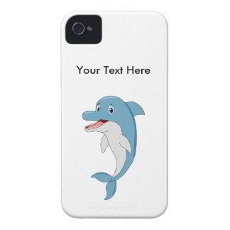 Happy dolphin iPhone 4 cases