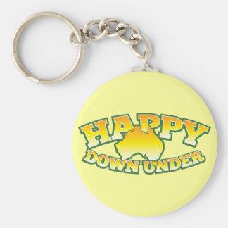 Happy Down under Key Ring