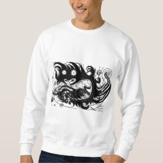 Happy dragon (Silhouette) Sweatshirt
