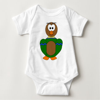 Happy Duck Baby Bodysuit