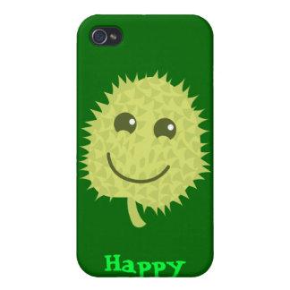Happy Durian fruit iPhone 4/4S Cases