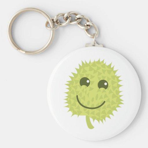 Happy Durian Key Chain