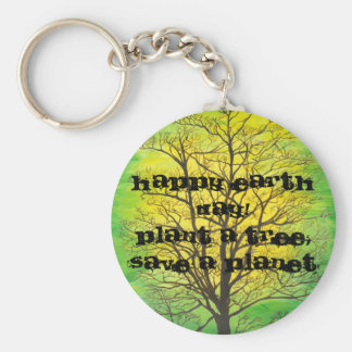 Happy Earth Day Key Chain