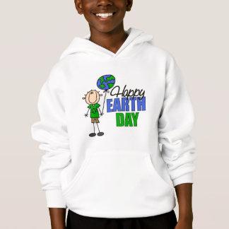 Happy Earth Day Kids Hoodie