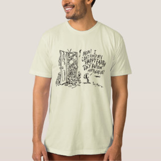 Happy Earth Day Organic T-Shirt for All Ages