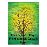 Happy Earth Day Post Card