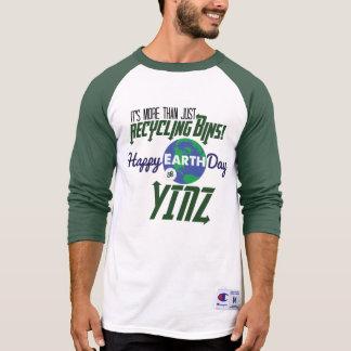 Happy Earth Day Yinz Baseball Shirt
