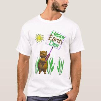 Happy Earthday Hedgehog T-Shirt