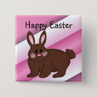 Happy Easter 15 Cm Square Badge