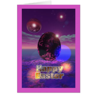 Happy Easter 3D Greeting Card