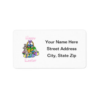 Happy Easter (7) Address Label