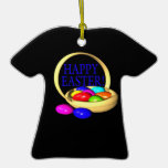 Happy Easter Basket Ornaments
