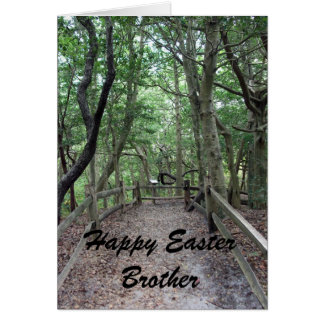 Happy Easter Brother Card