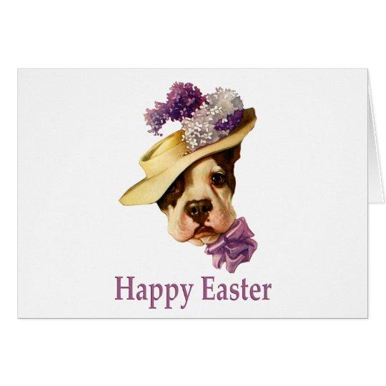 Happy Easter Bulldog Card